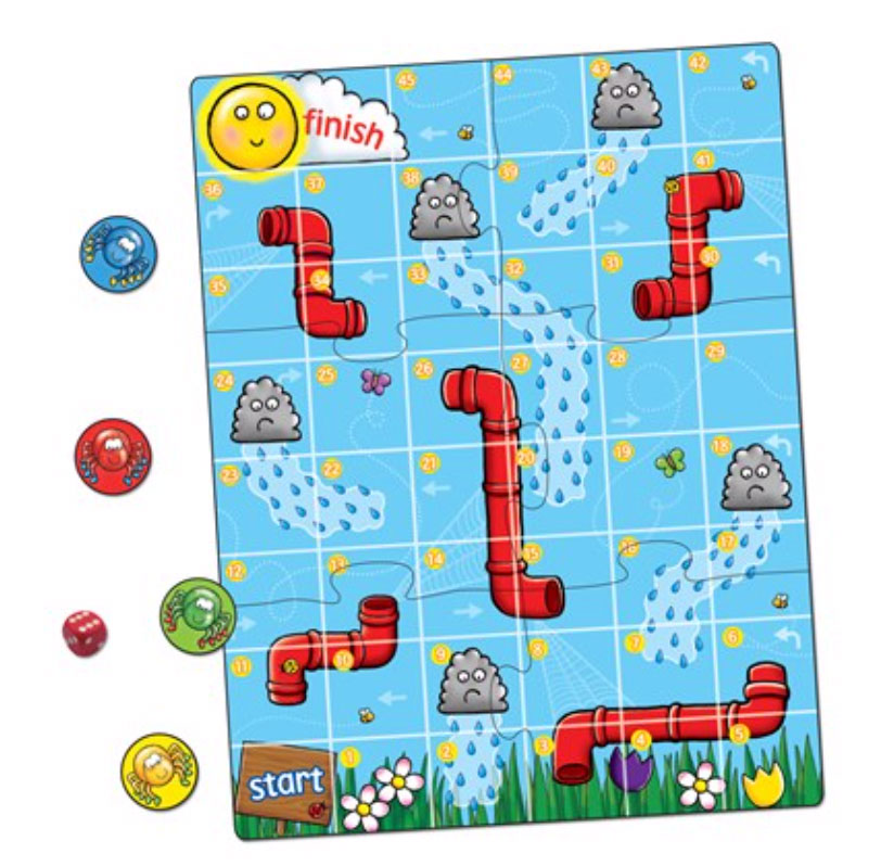 Spiders and Spouts Mini Game Game by Orchard Toys
