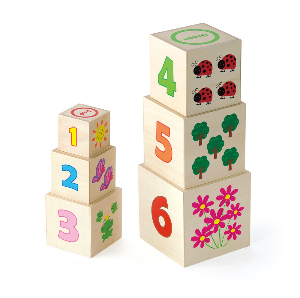 Wooden Stacking Nesting Blocks