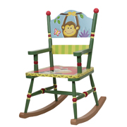Sunny Safari Rocking Chair by Teamson