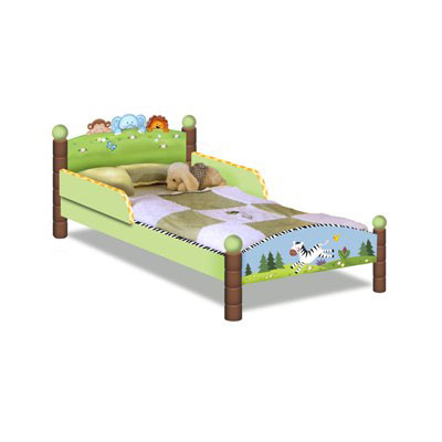 Sunny Safari Toddler Bed by Teamson