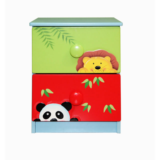 Sunny Safari 2 drawer Cabinet by Fantasy Fields Teamson