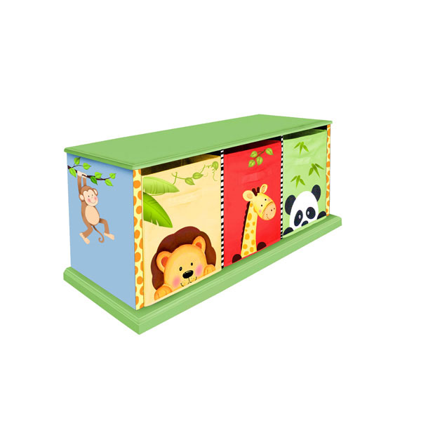 Sunny Safari 3 Drawer Bag cabinet by Teamson