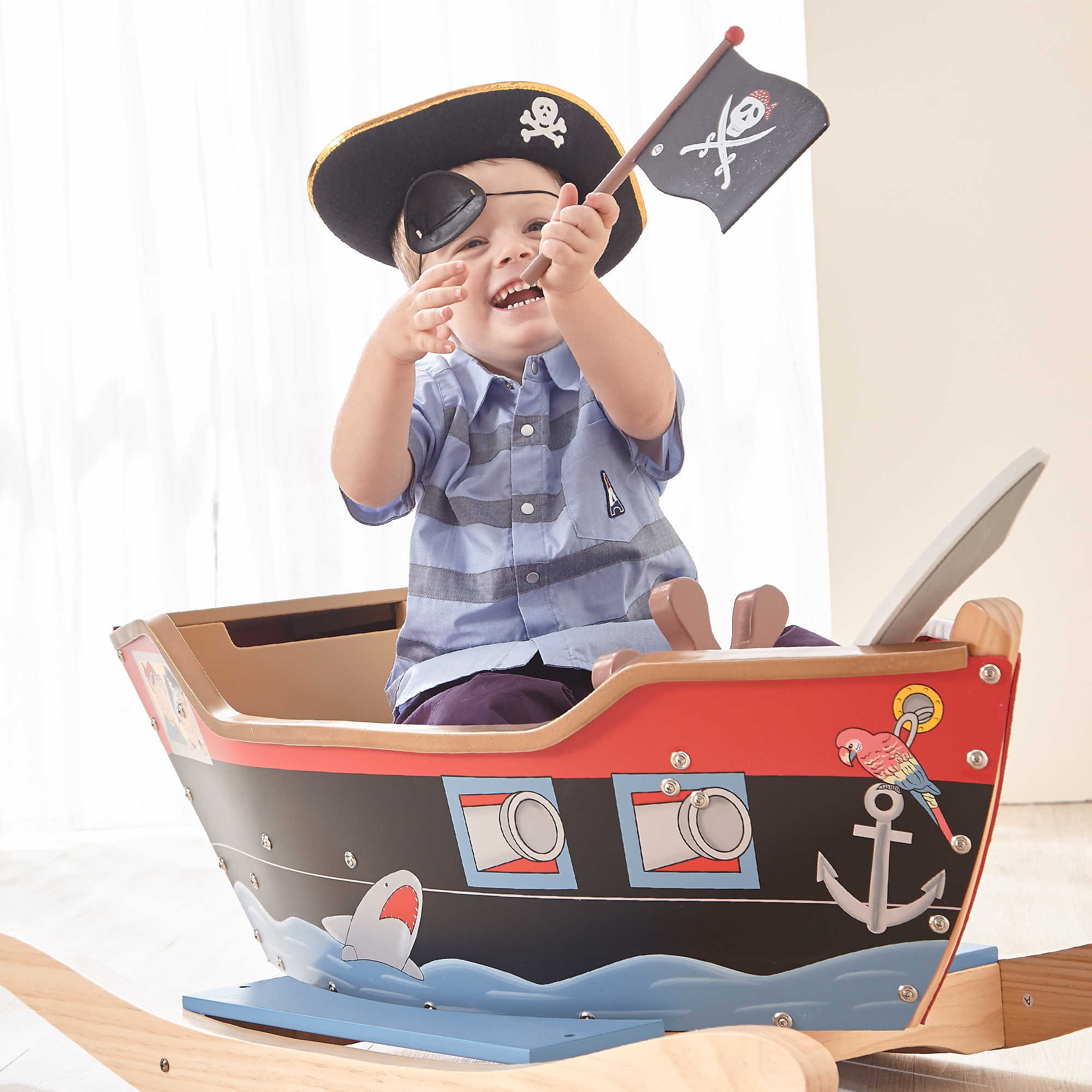 Rocking Pirate Ship by Fantasy Fields Teamson