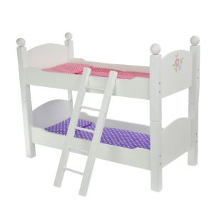 Olivia's little world ~ Little Princess 45cm Doll Furniture ~ Double Bunk Bed