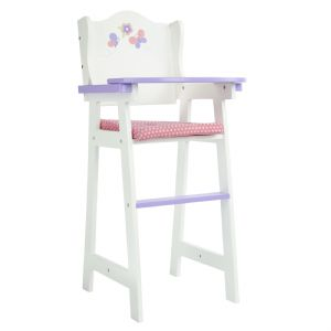 Olivia's little world ~ Little Princess 45cm Doll Furniture ~ Baby High Chair