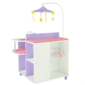 Olivia's little world ~ Little Princess 45cm Doll Furniture ~ Baby changing station with storage 3+