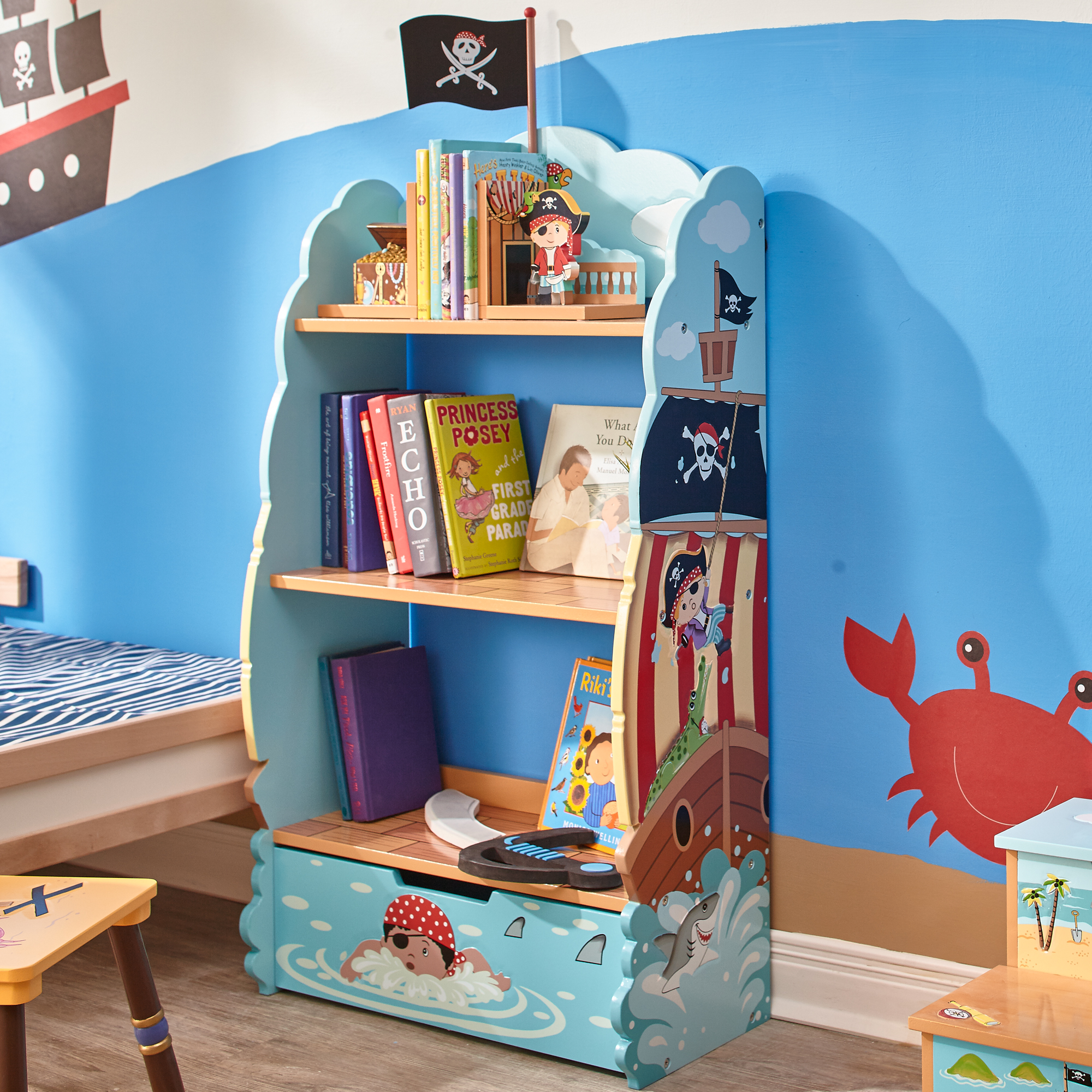 Pirate Bookcase by Fantasy Fields ~ Teamson