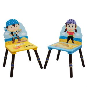 Pirate 2 chair set (Blue & Purse Hat) by Fantasy Fields Teamson