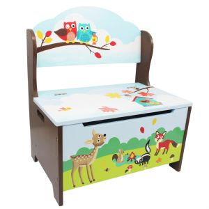 Enchanted Woodlands Storage Bench ~ Fantasy Fields ~ Teamson ~ Toy Box