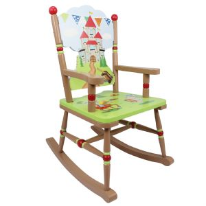 Knights & Dragon Rocking Chair ~ Fantasy Fields ~ Teamson