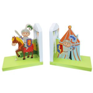 Knights & Dragon Bookends by Fantasy Fields ~ Teamson