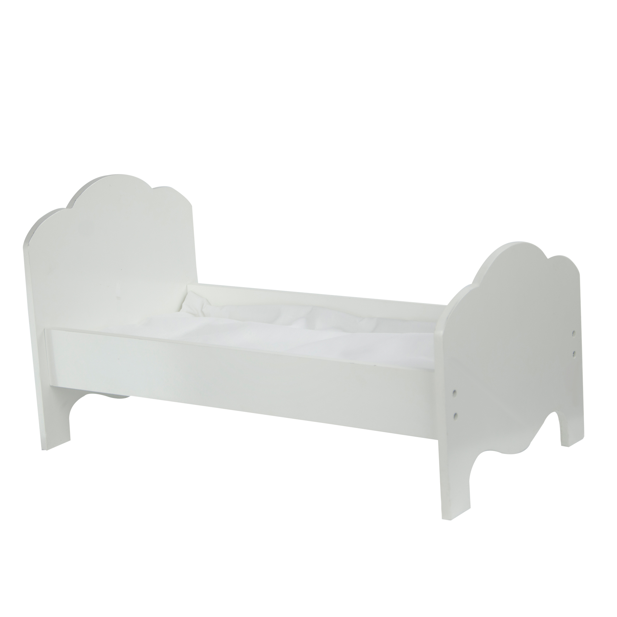 Olivia's Little World ~ Little Princess 45cm Doll Furniture - Classic Single Bed