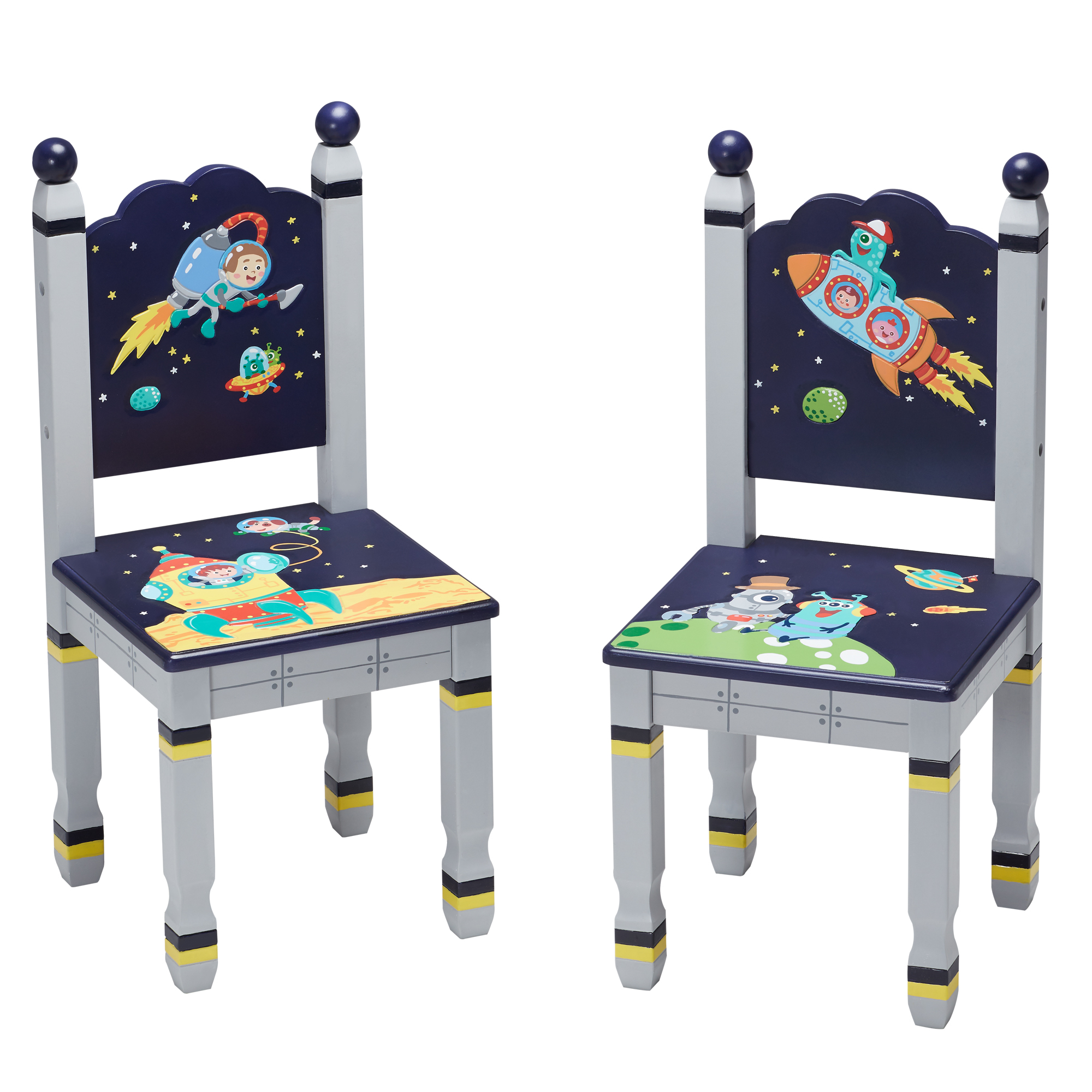 Outer Space Table & set 2 chairs ~ Fantasy Fields ~ Teamson