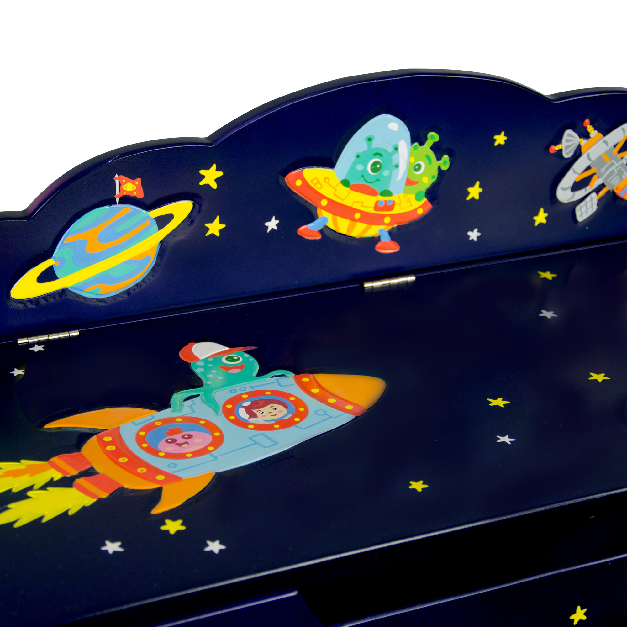 Outer Space Toy Box, Toy Chest ~ Fantasy Fields ~ Teamson