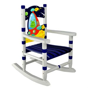 Outer Space Rocking Chair ~ Fantasy Fields ~ Teamson