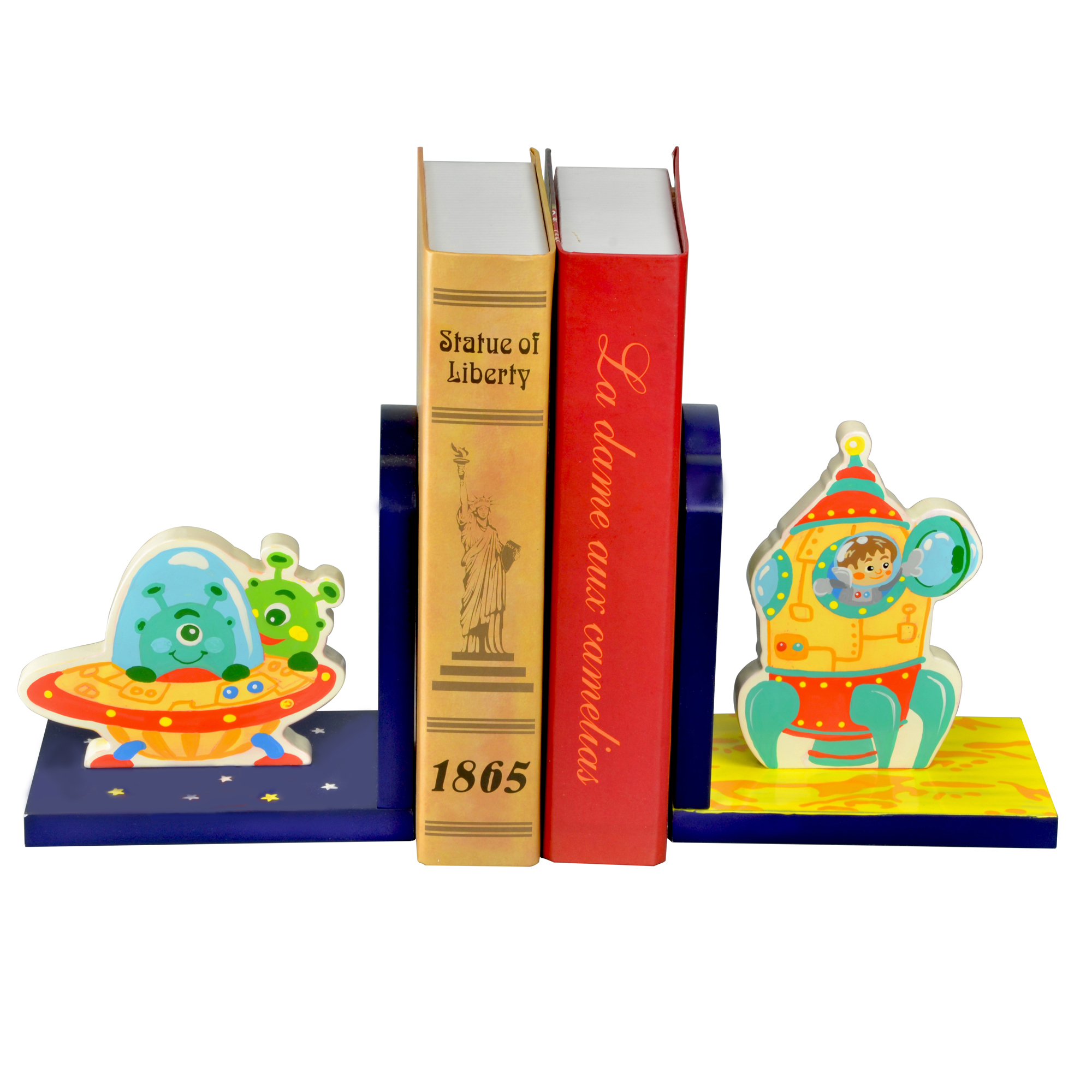 Outer Space Bookends ~ Fantasy Fields ~ Teamson
