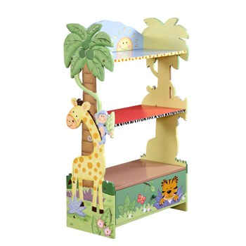 Sunny Safari Bookcase by Teamson Fantasy Fields