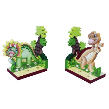 Dinosaur Bookends by Teamson - Fantasy Fields