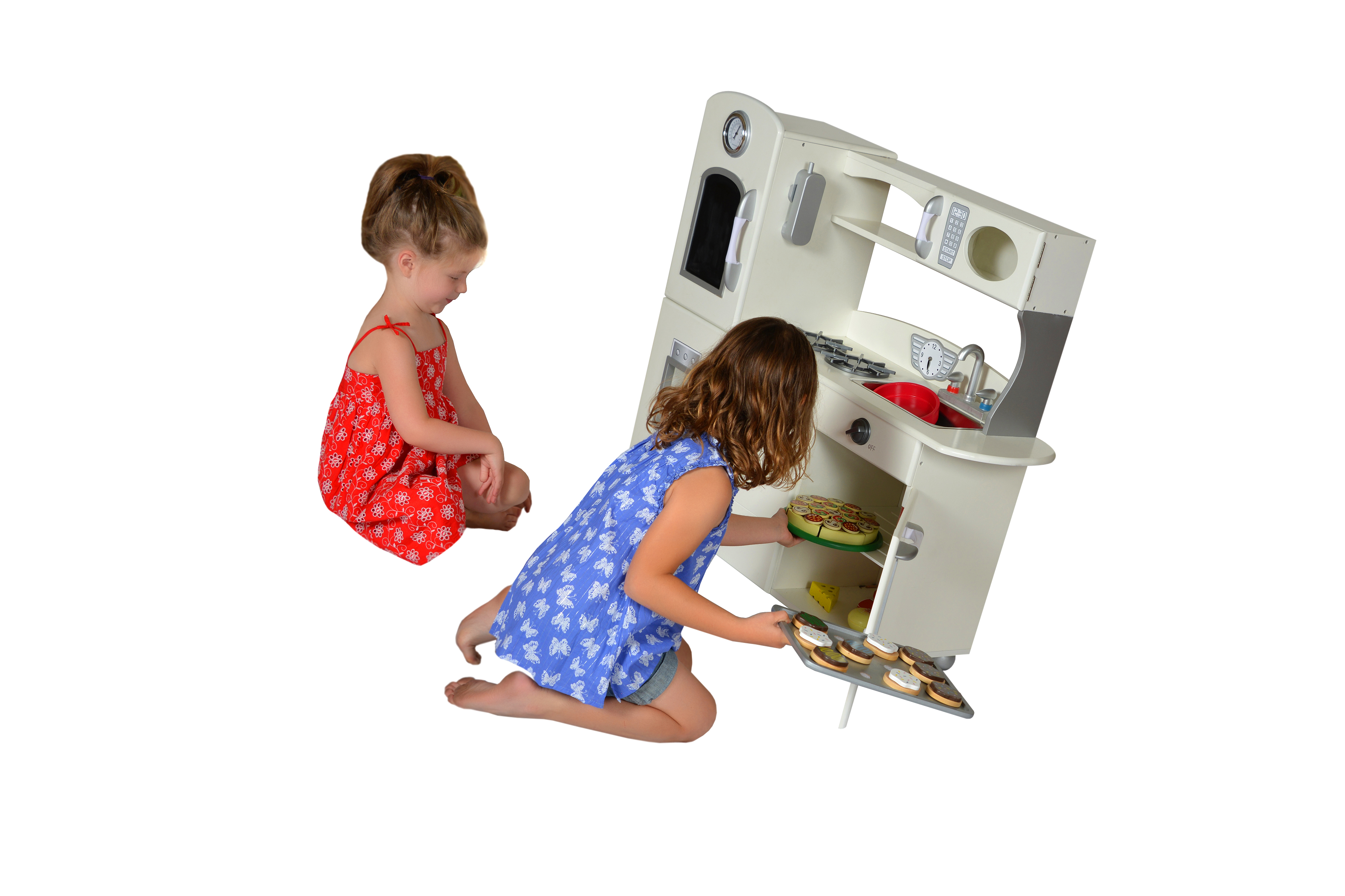 White Country Living 1 piece kitchen by Teamson