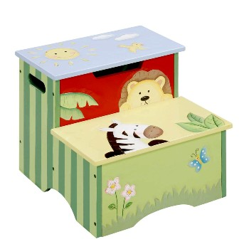 Sunny Safari Step Stool by Fantasy Fields Teamson