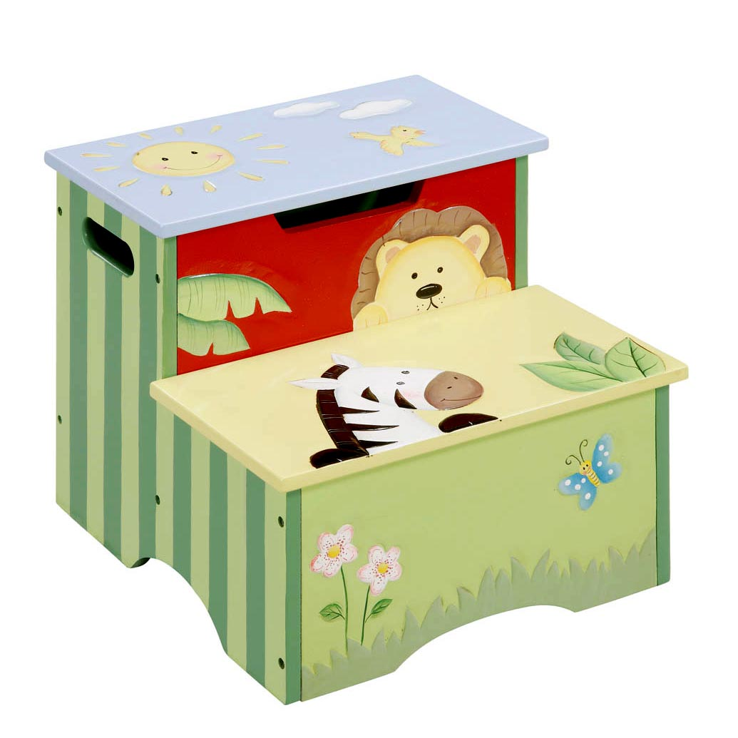 Sunny Safari Step Stool by Teamson - Fantasy Fields
