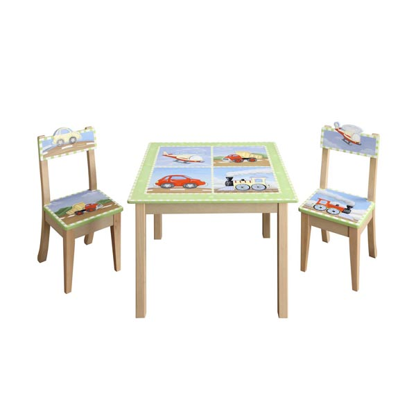 Transportation Kids Table & Chair set by Teamson Fantasy Fields