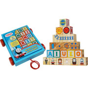 Thomas and Friends Blocks Cart with Game by Tree Toys