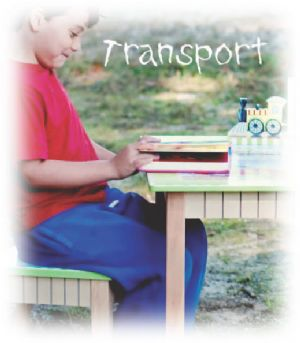 Transportation Collection ~ Fantasy Fields ~ Teamson