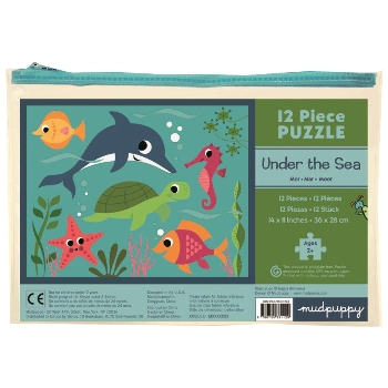 Mudpuppy 12 Piece Puzzle -- Under the Sea