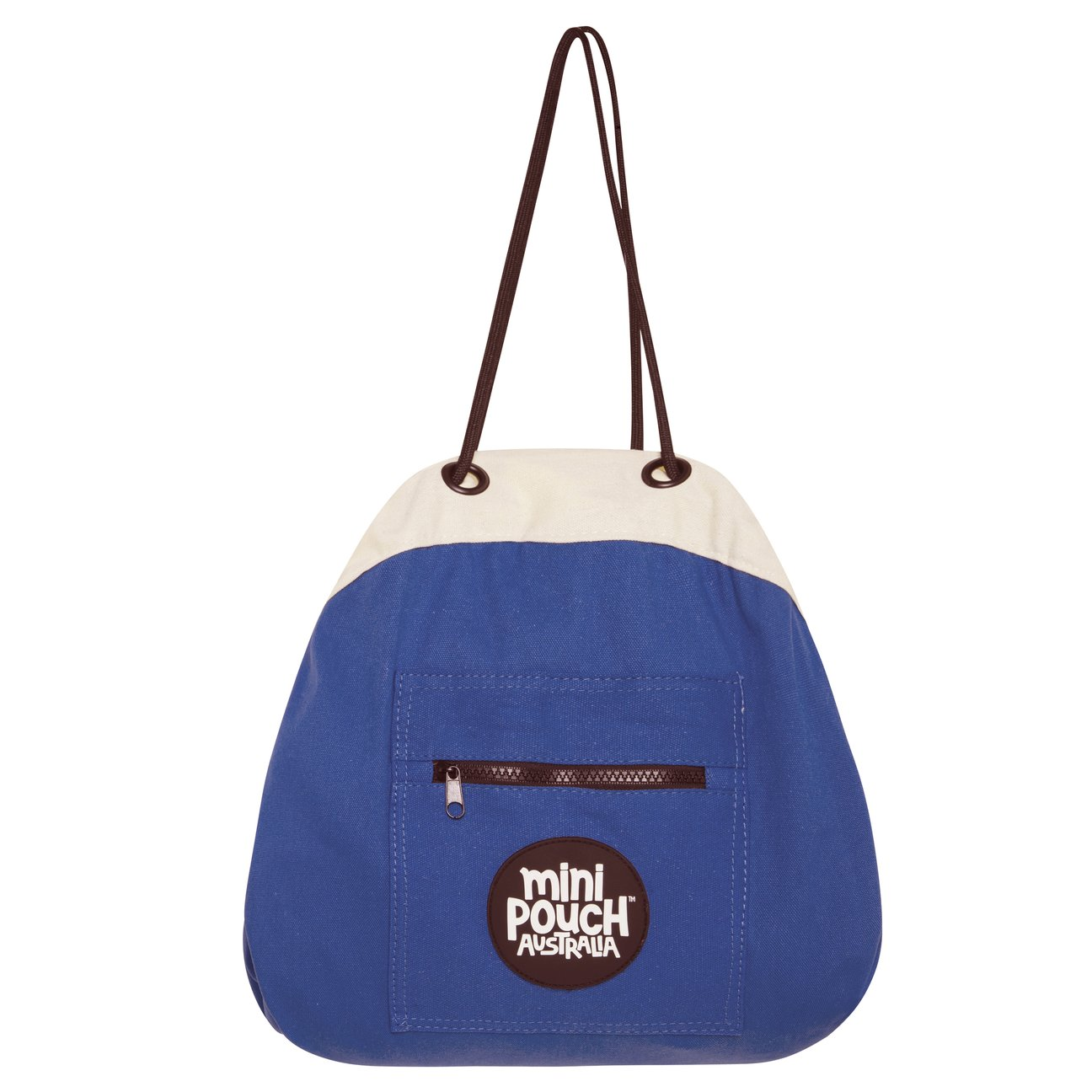 Mini Play Pouch Captain Blue - Storage Bag and Play Mat In One