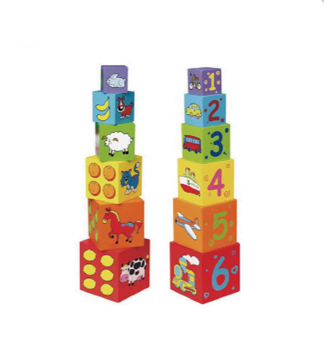 Wooden Stacking Nesting Blocks by Viga