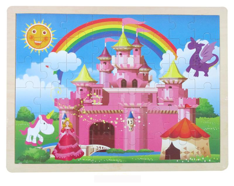 Wooden Princess ~ Castle Jigsaw Puzzle by Fun Factory