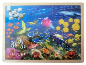 Wooden SeaLife Jigsaw Puzzle by Fun Factory