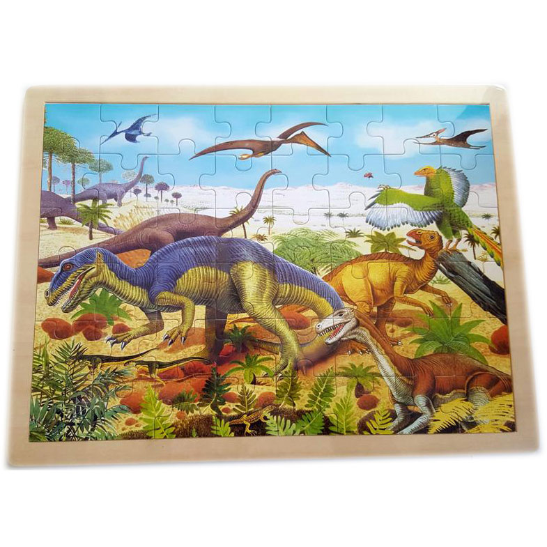Wooden Dinosaur Jigsaw Puzzle by Fun Factory
