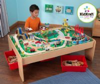 Lets play with train sets by kidkraft
