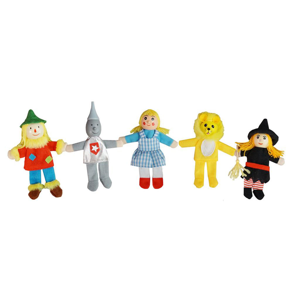 Finger puppets - Wizard of Oz ~ Fun Factory