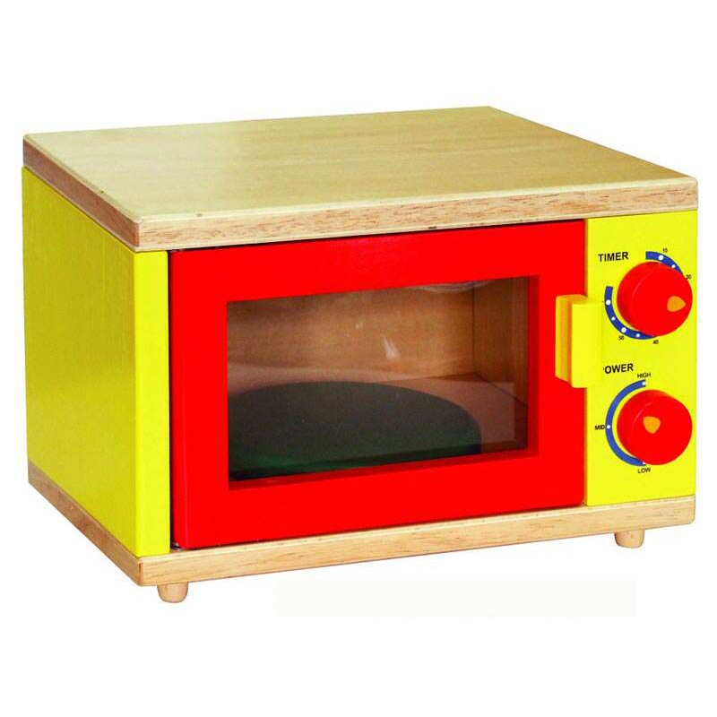 Wooden pretend microwave by Viga Toys