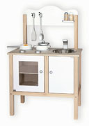 Wooden Noble White Kitchen by Viga