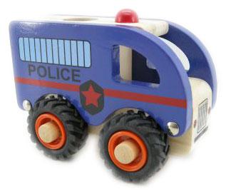 Wooden Police Van