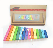 Wooden Large Colour Xylophone by Kaper Kidz