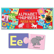 Alphabet & Numbers Puzzle Pairs by eeboo