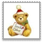 Personalised Christmas Bauble Bear Design O8