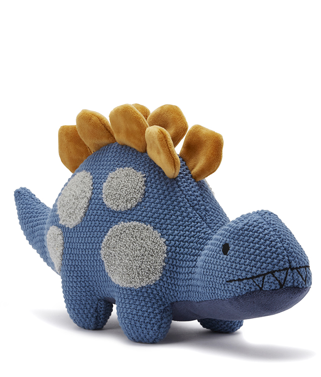 Daddy Dino cuddly toy by NANA HUCHY