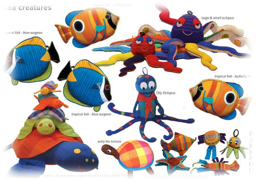 Barefoot Sea Creatures