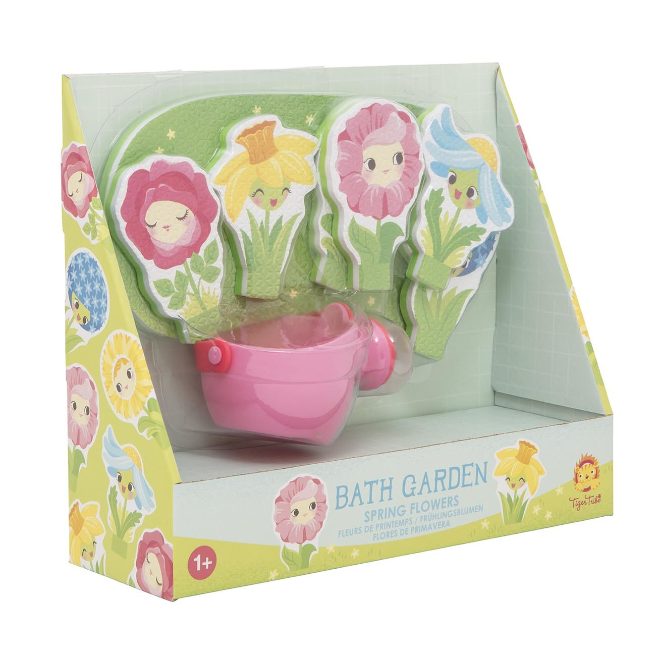 Bath Toys ~ Bath Garden - Spring Flowers by Tiger Tribe