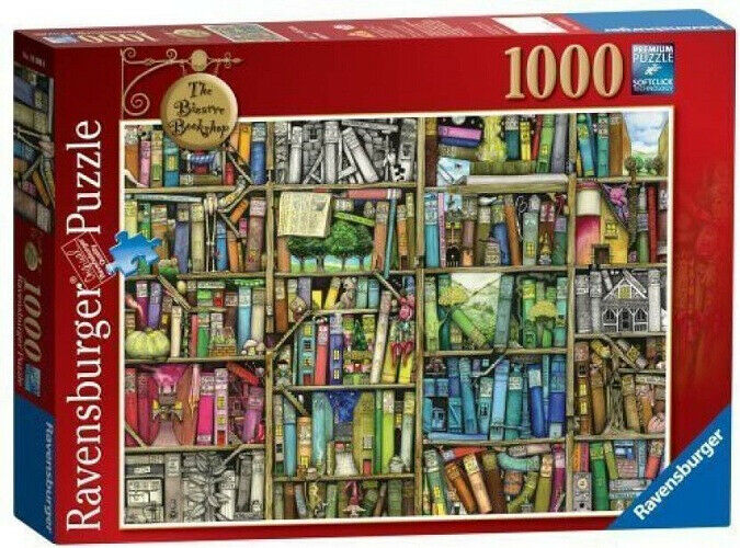 Ravensburger Colin Thompson - The Bizarre Bookshop  Puzzle 1000pc