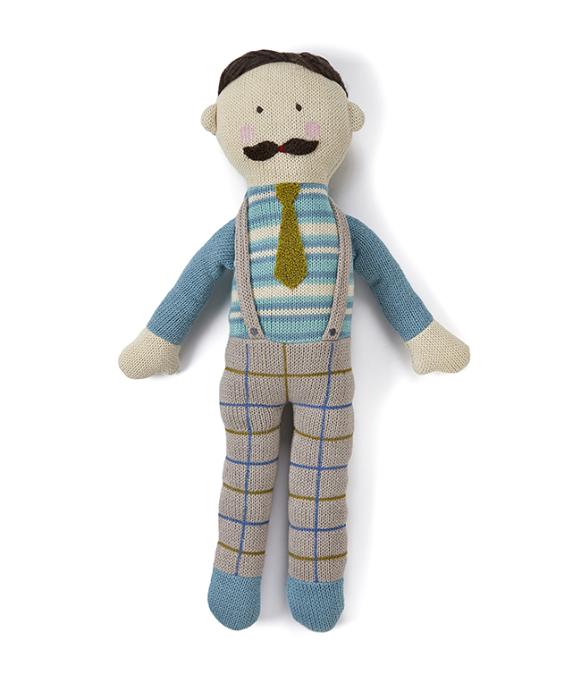 Papa knitted ~ Doll by NANA HUCHY