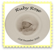 PERSONALISED KEEPSAKE ~~ Special Occasion,Mother's Day,Christening, Baptism Gift, Memorial, Wedding ~~ Ceramic Plate