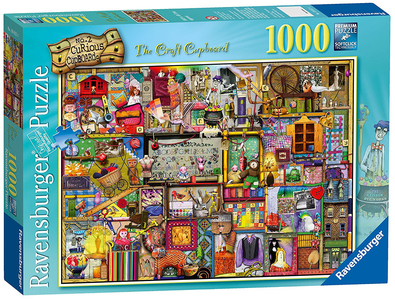 Ravensburger Colin Thompson - The Craft Cupboard Puzzle 1000pc