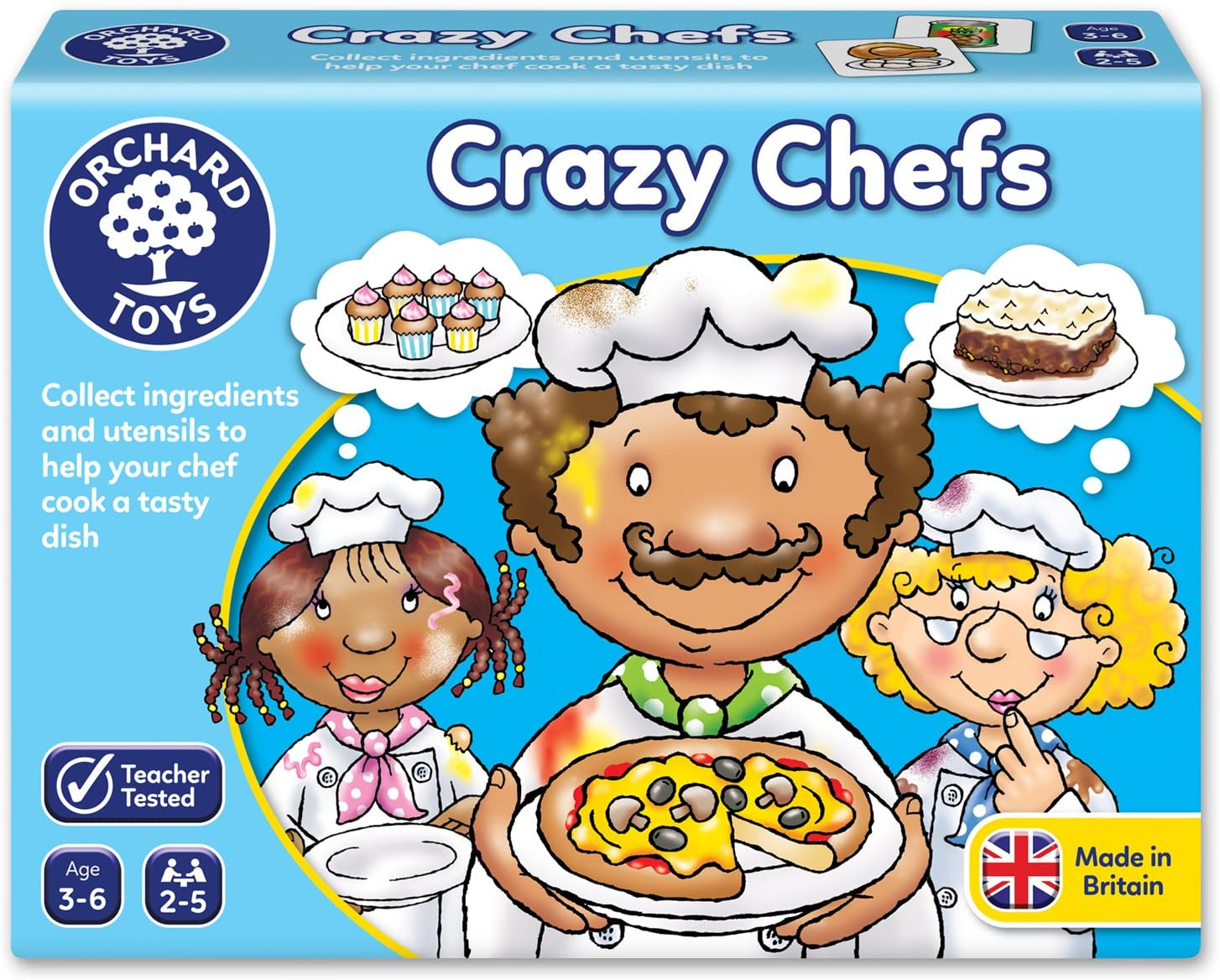 Crazy Chefs by Orchard Toys 3 ~ 6